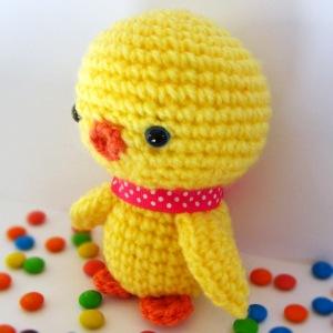 Crochet: pollito