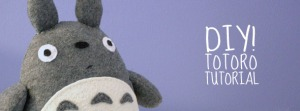 Fieltro: Totoro Plush Tutorial