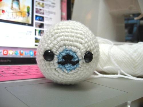 Crochet: Mamegome Seal Pattern popandcraft