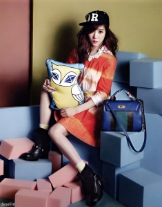 Tiffany (SNSD) - Vogue Girl (Marzo 2013)