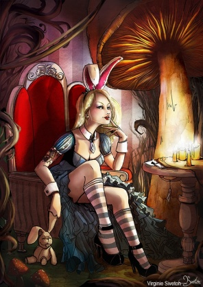 Alice in Wonderland by Virginie Siveton