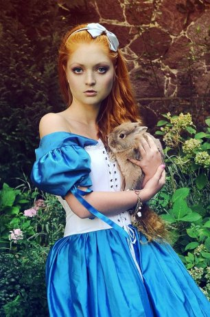 alice_with_the_rabbit_by_voodica