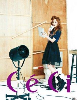 Jia miss A CeCi Magazine May 2013 (4)