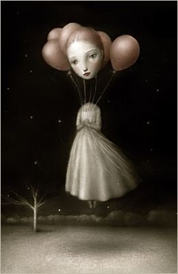 Balloon girl by Nicoletta Ceccoli