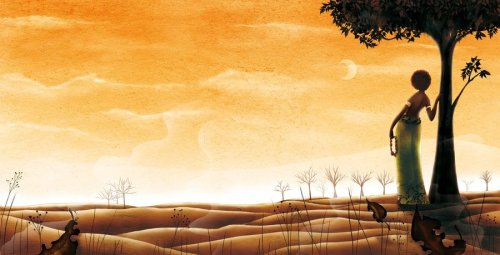 African_morning_by_cathydelanssay