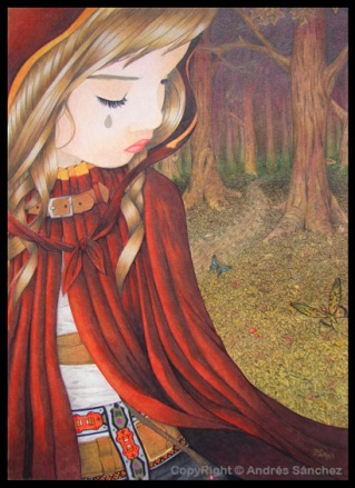 Little Red Riding Hood by ~llamadorada