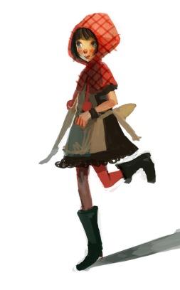 Little_Red_Riding_Hood_by_Joysuke