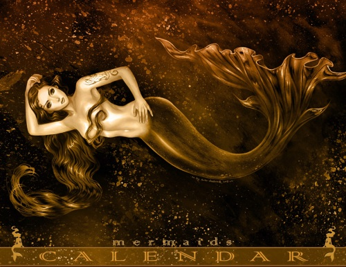 Mermaid_2009_Calendar_by_daekazu