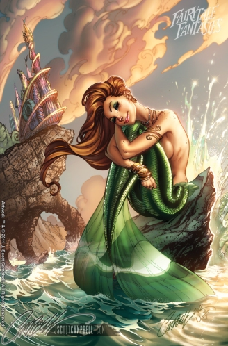The Little Mermaid FTF 2012 by J-Scott Campbell