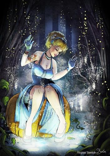 Cinderella by Virginie Siveton
