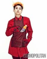 G-Dragon (Big Bang) - Cosmopolitan Magazine (julio 2013) (1)