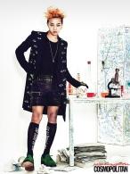 G-Dragon (Big Bang) - Cosmopolitan Magazine (julio 2013) (2)