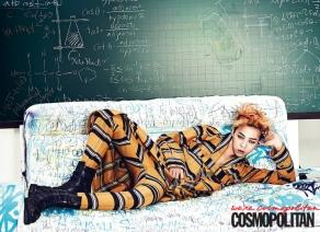 G-Dragon (Big Bang) - Cosmopolitan Magazine (julio 2013) (5)