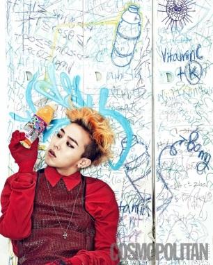 G-Dragon (Big Bang) - Cosmopolitan Magazine (julio 2013) (8)