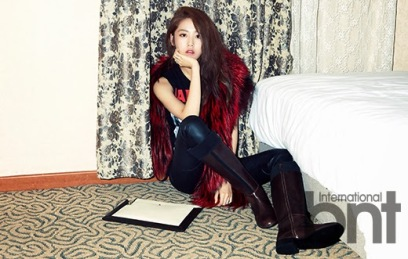 Gayoon 4minute - bnt International December 2013 (8)