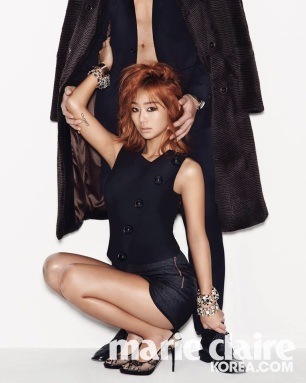 Hyorin SISTAR - Marie Claire Magazine January Issue 2014 (3)