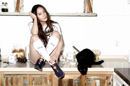 Krystal Jung f(x) Puma CF (5)