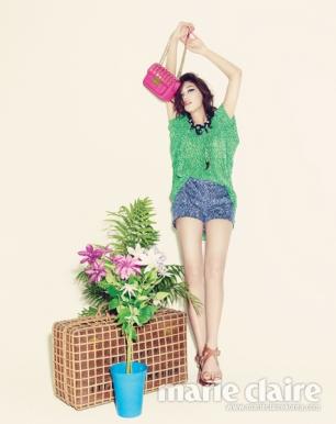 Lee Ho Jung Marie Claire April 2013