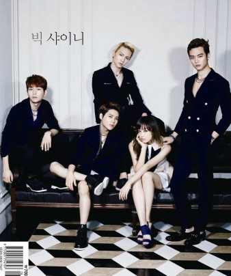 SHINee and f(x) Victoria - High Cut Magazine Vol.100 1