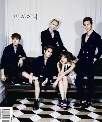 SHINee and f(x) Victoria - High Cut Magazine Vol.100 1