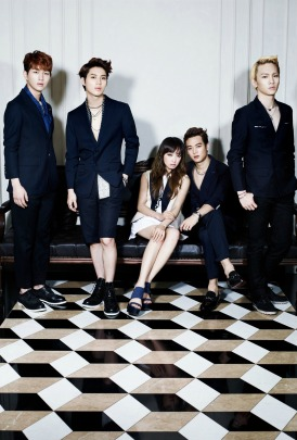 SHINee and f(x) Victoria - High Cut Magazine Vol.100 2