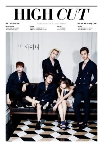 SHINee and f(x) Victoria - High Cut Magazine Vol.100 4