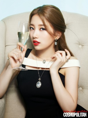 Suzy miss A - Cosmopolitan Magazine February Issue 2014 (6)