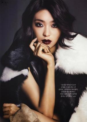 Tiffany SNSD and Bora SISTAR - Harper's Bazaar Magazine January Issue 2014 (7)