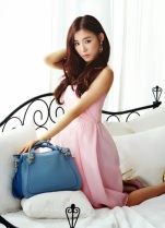 Tiffany SNSD Girls Generation Jill Stuart Photoshoot (2)
