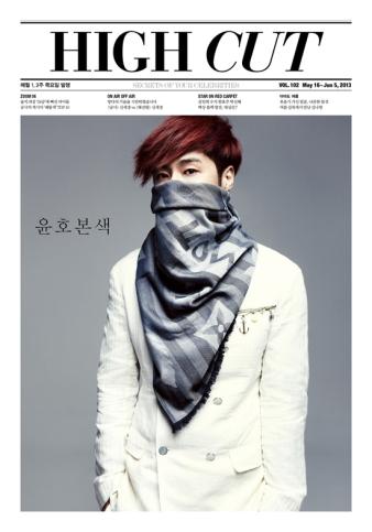 TVXQ Yunho - High Cut Magazine Vol.102