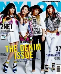 2NE1 - Nylon Magazine May Issue 2014 (2) (1)