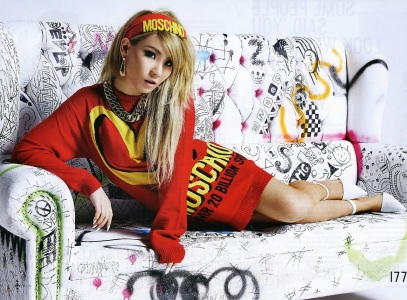 2NE1 - Nylon Magazine May Issue 2014 (2)