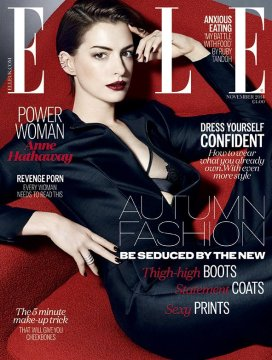 Anne Hathaway - Elle UK (november 2014) (1)