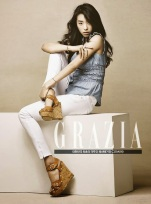 Bora and Hyo Rin - Grazia Magazine April Issue 2014 (2)