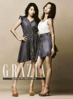 Bora and Hyo Rin - Grazia Magazine April Issue 2014