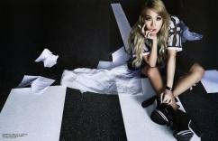 CL 2NE1 - Harper's Bazaar Magazine May Issue 2014 (2)