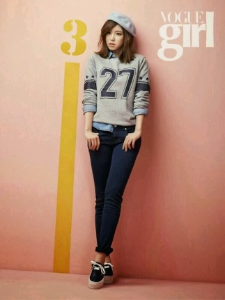 Hyosung and Sunhwa SECRET Vogue Girl March 2014