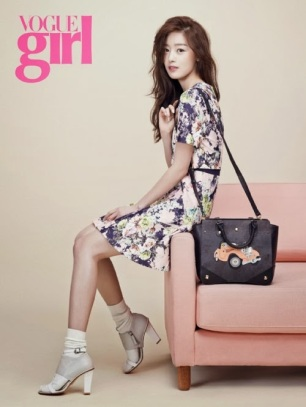 Hyosung Sunhwa Secret - Vogue Girl Magazine March Issue 2014 (2)