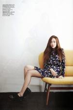 Jessica Jung SNSD - Harper's Bazaar Magazine May Issue 2014 (5)