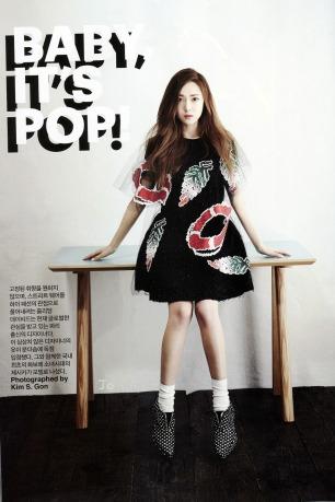 Jessica Jung SNSD - Harper's Bazaar Magazine May Issue 2014 (6)