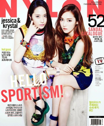 Jessica SNSD and f(x) Krystal - Nylon Magazine June Issue 2014 (2)