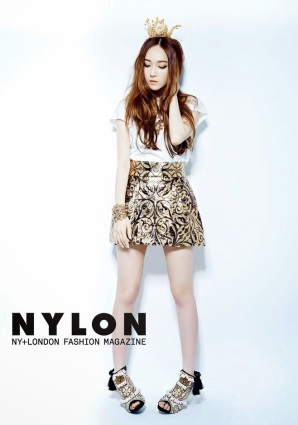 Jessica SNSD and f(x) Krystal - Nylon Magazine June Issue 2014 (3)