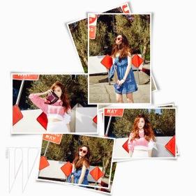 Jessica SNSD and f(x) Krystal - W Magazine June 2014 (2)