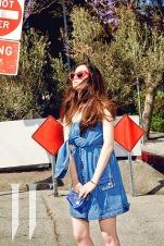 Jessica SNSD and f(x) Krystal - W Magazine June 2014 (6)