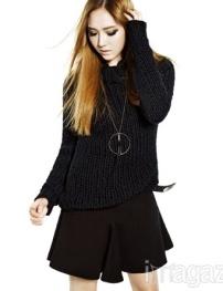 Jessica SNSD Krystal f(x) - Harper's Bazaar Magazine October Issue 2013 (4)