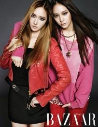 Jessica SNSD Krystal f(x) - Harper's Bazaar Magazine October Issue 2013 (5)