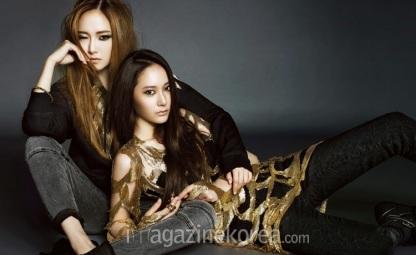 Jessica SNSD Krystal f(x) - Harper's Bazaar Magazine October Issue 2013