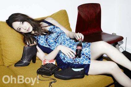 Krystal Jung f(x) - Oh Boy! Magazine March Issue 2014 (2)