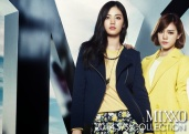 Lizzy & Jooyeon & Nana After School - Mixxo Spring Summer 2014 (6)