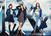 Lizzy & Jooyeon & Nana After School - Mixxo Spring Summer 2014